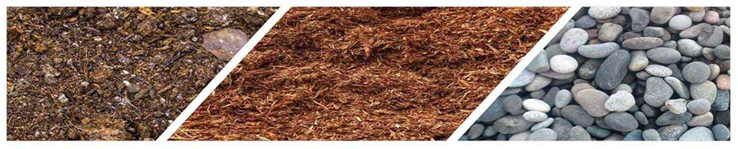 benefits of mulch over decorative rock in Victoria BC
