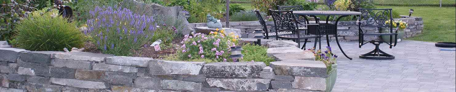 Ideas for using rocks in the garden