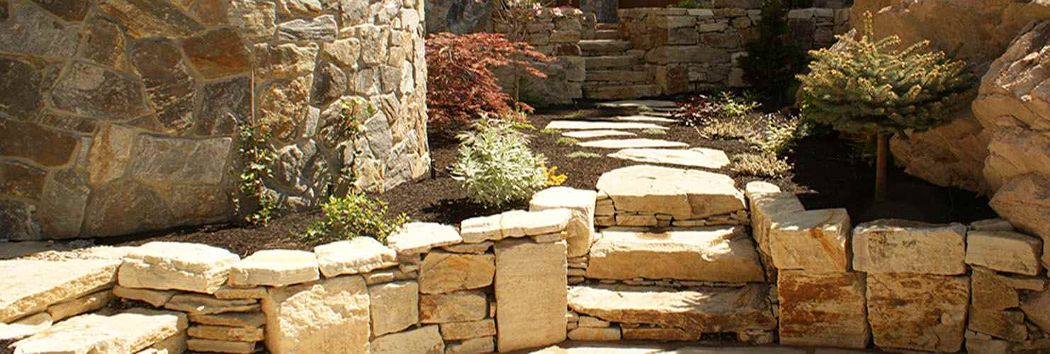 landscaping on a hill or sloped backyard in victoria bc